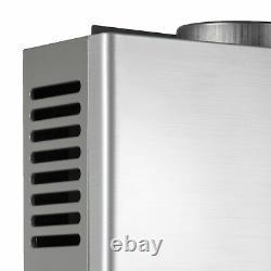 Chauffe-eau Instantané 18l 36kw Chaudière À Gaz Sans Réservoir Lpg Propane