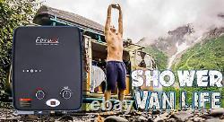 Chauffe-eau Portatif Sans Réservoir Chaud À L'extérieur, Capacité De 1,32 Gpm/5 Litres