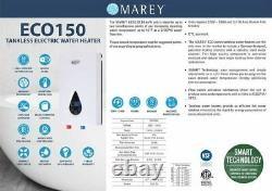 Chauffe-eau Sans Réservoir Électrique Marey Eco150 Remis À Neuf Best 3.5 Gpm 220v 14.6kw