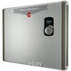 Chauffe-eau Sans Réservoir Électrique Rheem 36kw Auto-modulant 6gpm Instant Hot Water