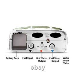 Chauffe-eau Sans Réservoir Portable Eccotemp Ce-l5, 50 Mbar