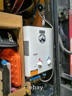 Chauffe-eau Sans Réservoir Portable Keewayeccotemp Cel5, 37 Mbar
