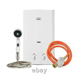 Eccotemp Cel-10 Portable Outdoor Tankless Water Heater With Shower Set, 50 Mbar