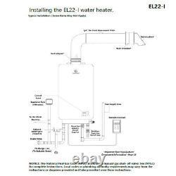 Eccotemp El22i Propane Chauffe-eau Sans Réservoir 6.8 Gpm Panneau Numérique Vendeur Us