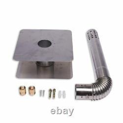 Eccotemp Fvi12 Gaz Propane Liquide Intérieur Réservoir Manuel Chauffe-eau 4,0 Gpm