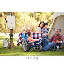 Eccotemp L10 Chauffe-eau Portatif Sans Réservoir De Gaz Propane 2,65 Gpm Camping Extérieur