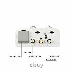 Eccotemp L5 Portable Outdoor Tankless Water Heater Wall Mounted Lightweight Nouveau