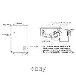 Eccotemp Propane Tankless Water Heater 45hi-lp Csa Certifié 6,8 Gpm Us Vendeur