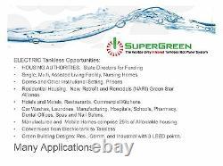Énergie Verte, Sur Demande Infrarouge Electric Tankless Water Htr. 3 Crédits Leed