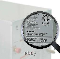 Fogatti Rv Chauffe-eau Sans Réservoir Chauffe-eau 12v Sur Demande Camper Chauffe-eau
