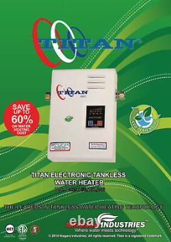 Radiateur D'eau Sans Réservoir Titan N120 Scr2, 11.8kw