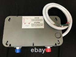 Rheem Performance 3,5 Kw 0,68 Gpm Point D'utilisation Chauffe-eau Électrique Sans Réservoir