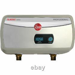 Rheem Rtex-04 Chauffe-eau Sans Réservoir À Point D'utilisation Classique 3,5kw 120v 29a