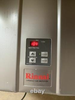 Rinnai Chauffe-eau Chaude Sans Réservoir Intérieur Rl94in Gaz Naturel S-4