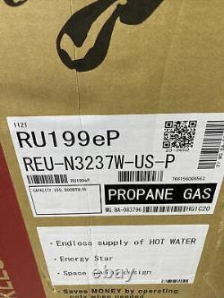 Rinnai Ru199ep Chauffe-eau Sans Réservoir Reu-n3237w-us-p Gaz Propane (q-32)