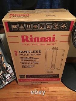 Rinnai Ruc98in Intérieur Gaz Naturel Condensing Chauffe-eau Sans Réservoir