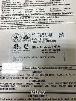 Rinnai V65in Chauffe-eau Sans Réservoir De Gaz Naturel Reu-vc2025ffu 150 000 Btu (q-22)
