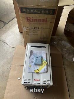 Rinnai V75en 7.5 Gpm Gaz Naturel Extérieur Chauffe-eau Sans Réservoir