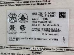 Rinnai V94e Chauffe-eau Sans Réservoir 199 000 Btu Gaz Naturel Code D'erreur 11 (#18)