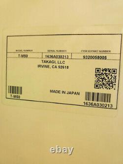 Takagi T-m50. Le Chauffe-eau Monster Tankless Peut Chauffer Six Douches À La Fois