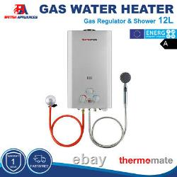 Thermomate Hot Water Heater Instant Tankless Gas Boiler 12l 24kw Lpg Propane Kit