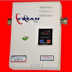 Titan N-120 Ou N-85 Tankless Water Heater Scr2 Electric Model Nouveau Navire Gratuit
