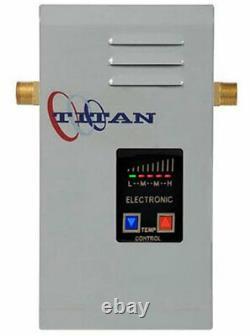 Titan Tankless Water Heaters Scr2 Modèles Électriques N120, N100, N85, N64 Nouveau